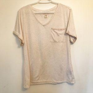 Style & co linen blend t-shirt size XL